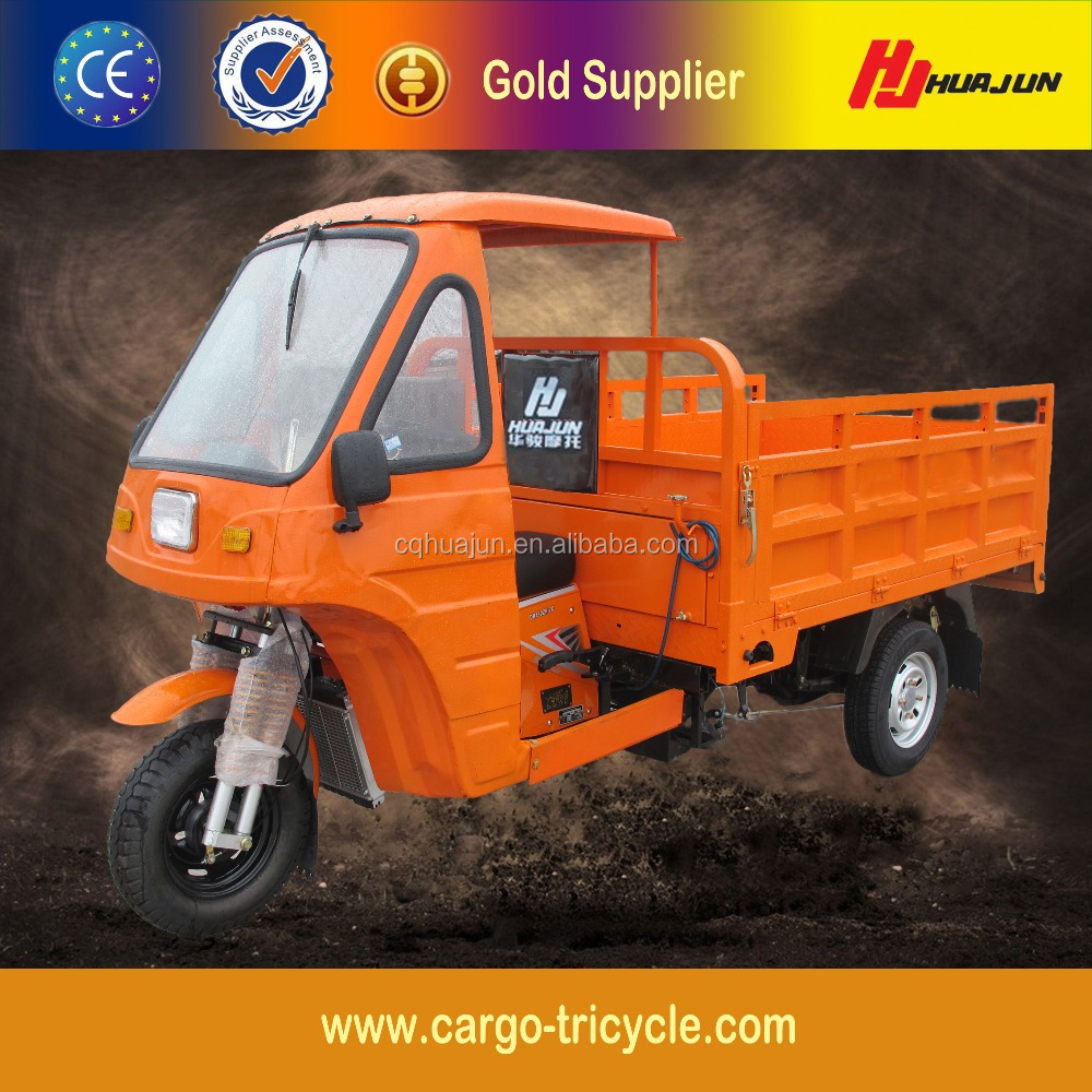 China Smal Business Use Cargo Gasoline Tricycle/Family Tricycle