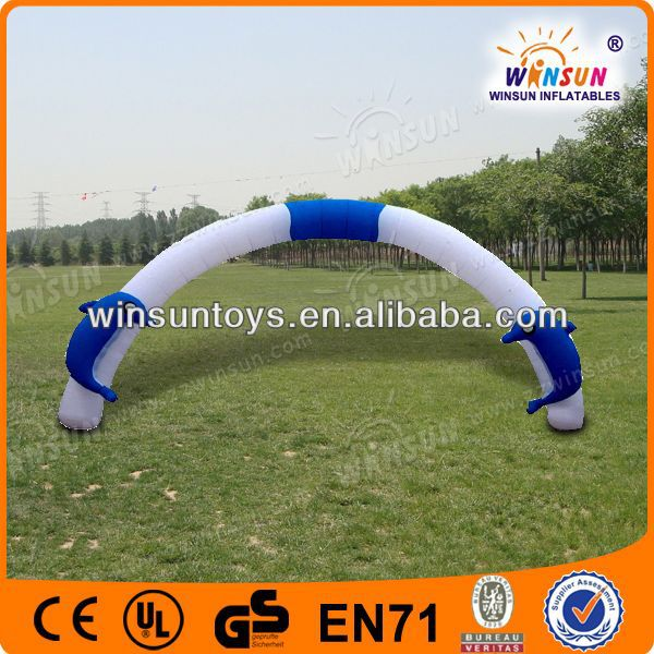 Summer Hot water games amusing inflatable arch price