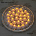 2017 New design white LED eletronic candle light for wedding home decoration(LED-003)