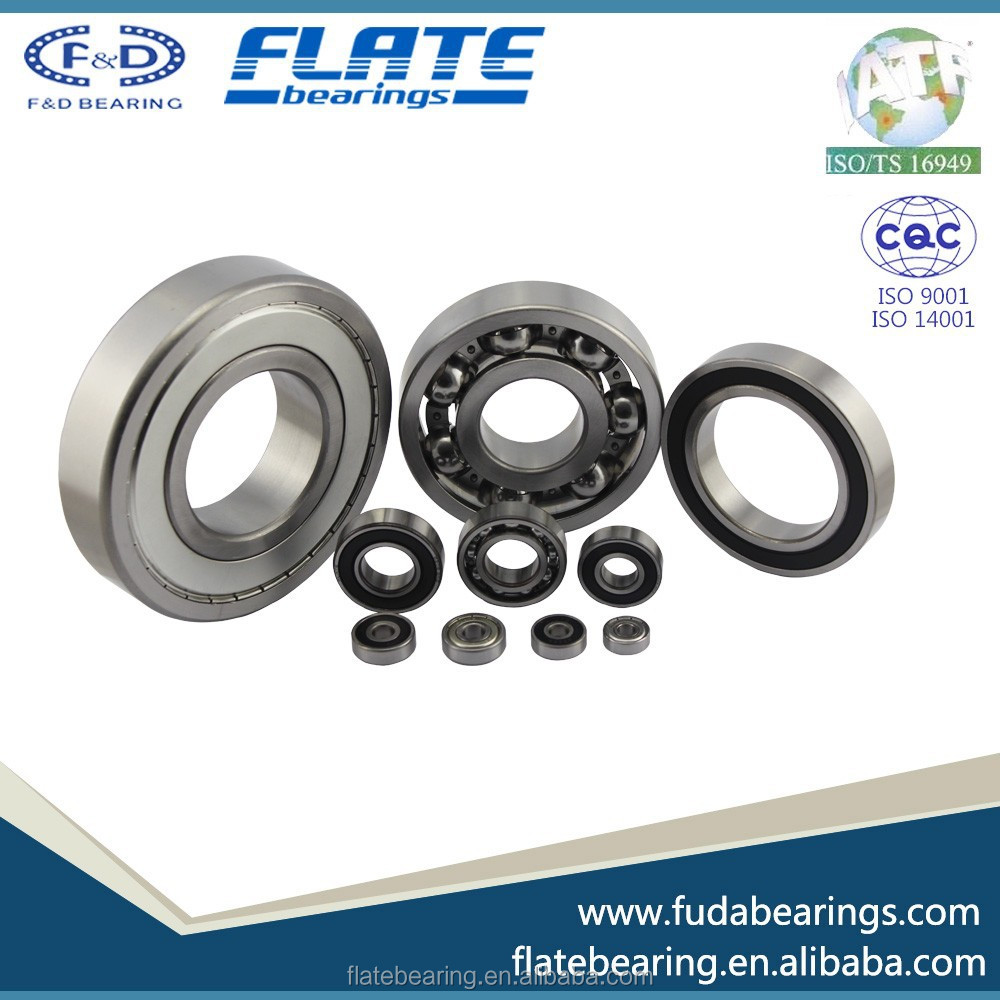 High quality and cheap price F&D FLATE Deep Groove Ball Bearings 6301