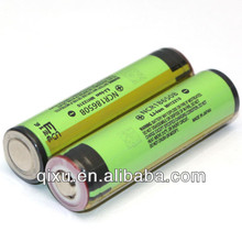 Wholesale Genuine Protected 18650 Li-ion 3.7V 3400mah battery with nipple( 1 pc)