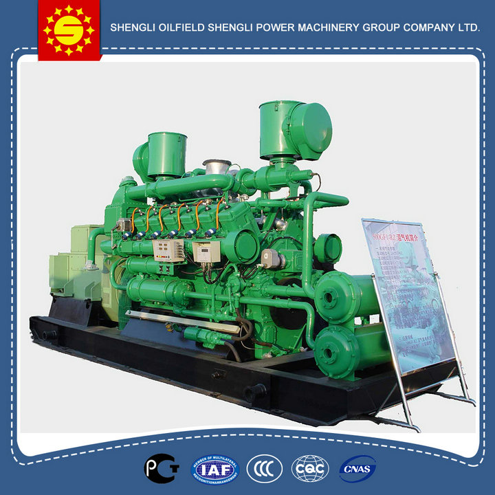 2016 New design low price googol biogas engine , natural gas generator