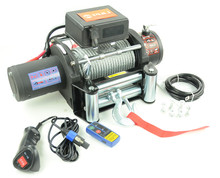 13500lb/6000kg/6ton 4x4 off-road/suvs DC 12 volt electric winch supplier