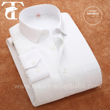 2015 New Model Thick Solid Color Men's Shirts For Winter