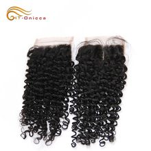 Customized Yaki/Curly/Wave Human Hair Lace Frontal Piece, HT Onicca Brazilian Hair Closure Lace Frontal