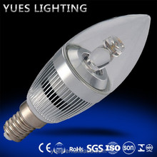 candle shape LED lighting bulb new products china supplier