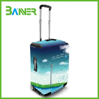 Colorful promotional gift spandex luggage cover