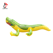Hot sale mischief toys for halloween giant inflatable crocodile simulation animal for sale