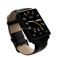 NO.1 D6 3G Smart watch with Android 5.1 MTK6580 Quad Core 1.3GHz and high precision GPS WiFi Bluetooth 4.0 smart wrist watch