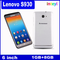 Original Unlocked Lenovo S930 Smartphone MTK6582 Quad Core 6.0 Inch HD IPS 1280x720 Android 4.2 Dual Camera 8.0MP mobile phone