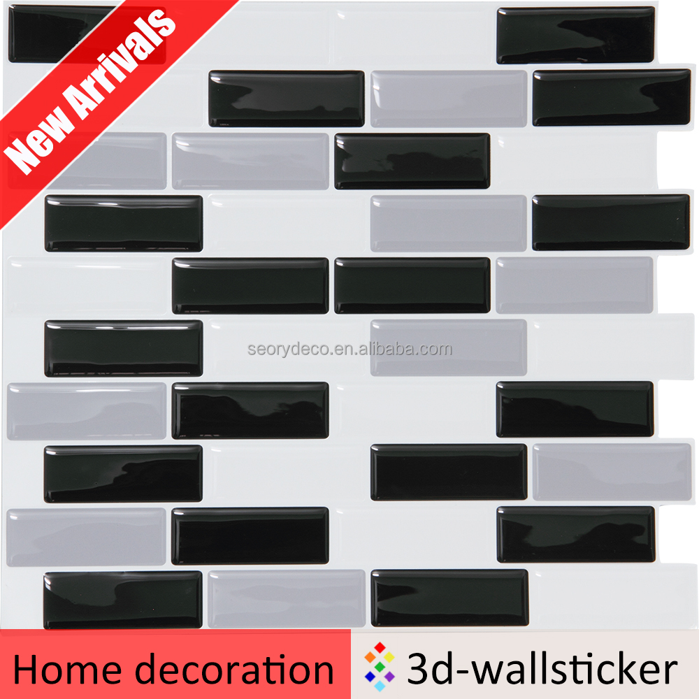 High quality stick on vinyl mosaics for interior wall mosaic art