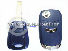 new flip key shell for fiat and car key shell