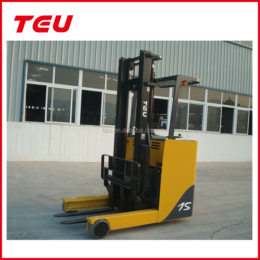 TEU 1.5T 1500KG SMALL MINI ELECTRIC FORKLIFT TRUCK AC MOTOR