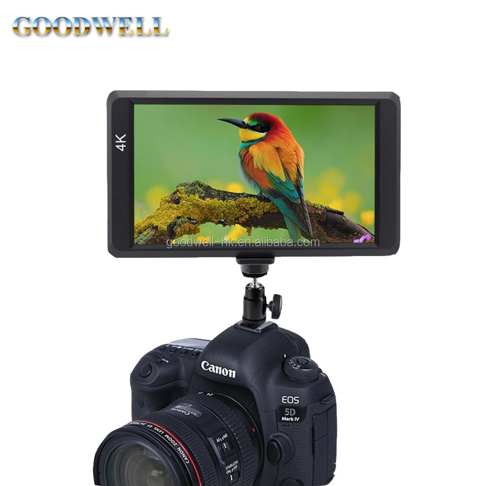 <strong>1000</strong>:1 High Contrast Ratio Professional On Camera Mount Portable Monitor with HDMI Input 5.5 Inch