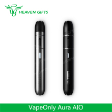 HeavenGifts Supplier Vape Only 2.0ml e cigarette vapor pen 2000mAh VapeOnly Aura AIO Kit