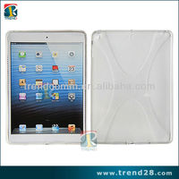 transparent cup shape design tablet computer tpu case cover for Apple ipad 5