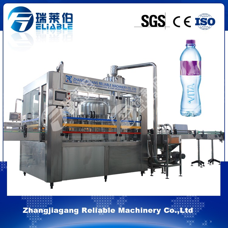 Automatic mineral water manufacturing plant low cost of water filling machine for PET bottle