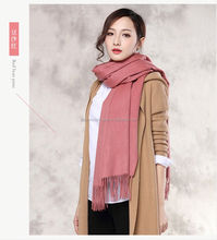 blue scarves wrap fashion scarf in cashmere material