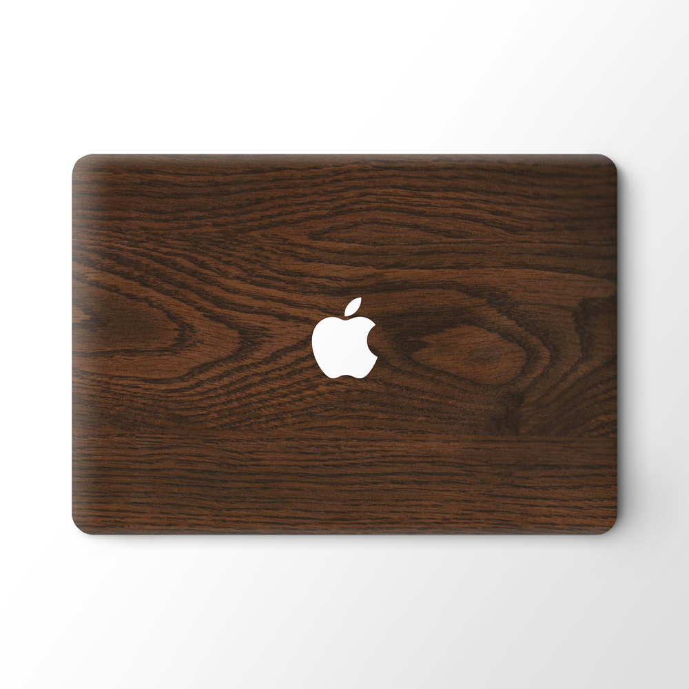 Best Sell Wood Pattern Laptop Computer Decals Stickers for Apple Macbook Pro 13 15 inch