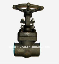 API forged/malleable steel gate valve class 800