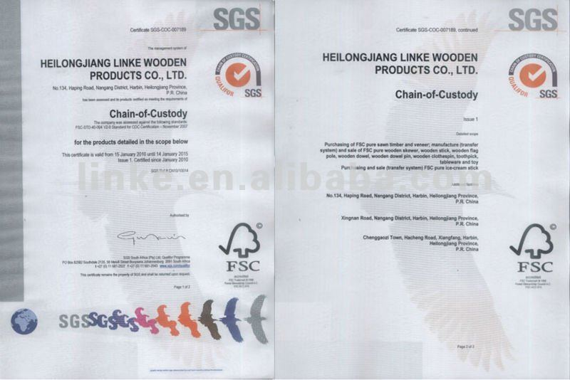 big flag poles with FSC Certificated