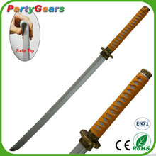 Manufacture Flexible Safety PU Foam Toy Cosplay Katana Anime Sword