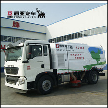 China Hot Sales Sweeping Width 4.1 Meters Cleaning Street/Road Sweeper Truck