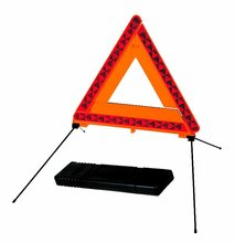 safety reflector led warning triangle