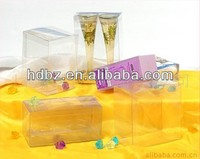 plastic box packaging for christmas decoration