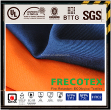 CVC cotton/polyester flame retardant fabric for garment OEM manufacture
