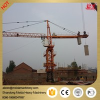 China manufacturer QTZ6015 60m jib length 60m free standing height Tower Crane