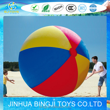 big size pvc inflatable ball gift beach ball