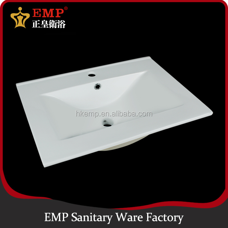 Hot bathroom sanitary ware thin edge cabinet wash basin designs for dining room