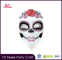 Day of the Dead Full Fabric Mask