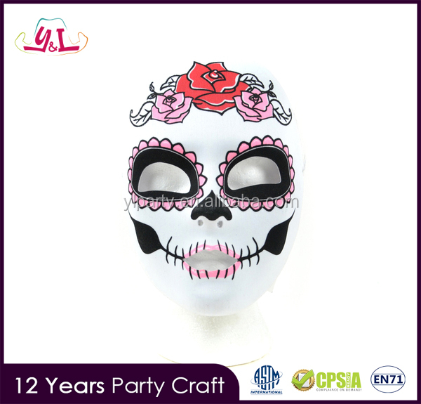 New Premium 2017 Day of the Dead Full Fabric Mask