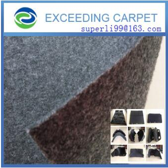 needlepunched nonwoven fabric felt for automotive