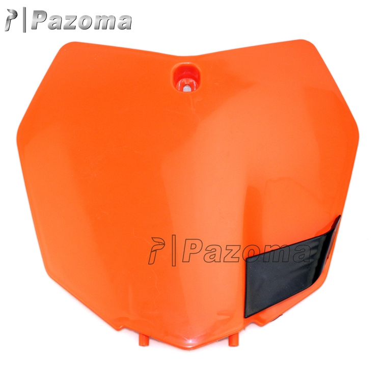 Pazoma Plastic Front Number Plate For KTM 250 SX-F 250 XCF-W 450 SX-F 250 XC-F 150 XC 2013-15