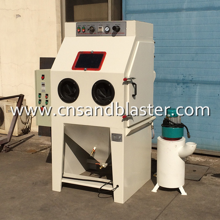 Dustless Wet Liquid Sand Blasting Cabinet