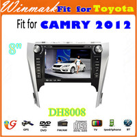 wholesale 8 inch touch screen 2 Din Car DVD Player for TOYOTA CAMRY 2012 DH8008