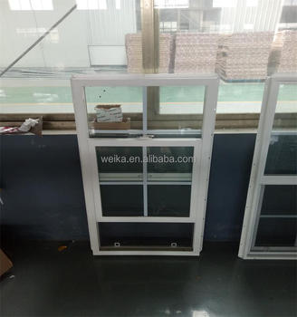2018 LATEST design hung vertical sliding window