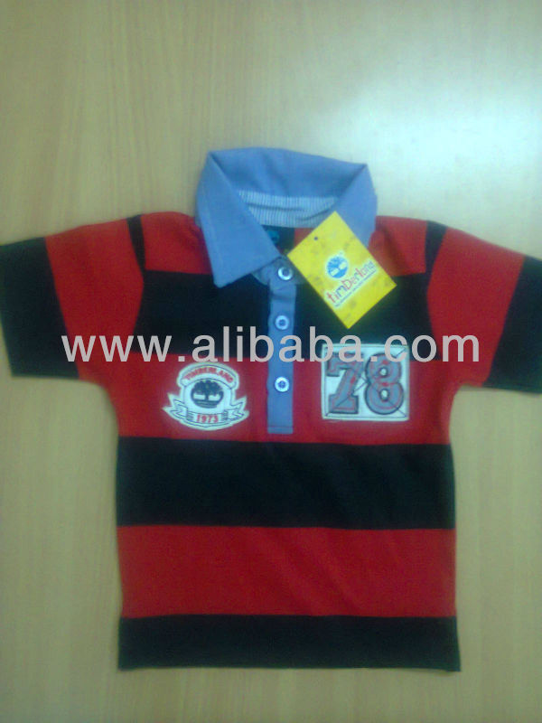 CHILDREN'S COLLAR T-SHIRTS WITH LATEST DESIGNS