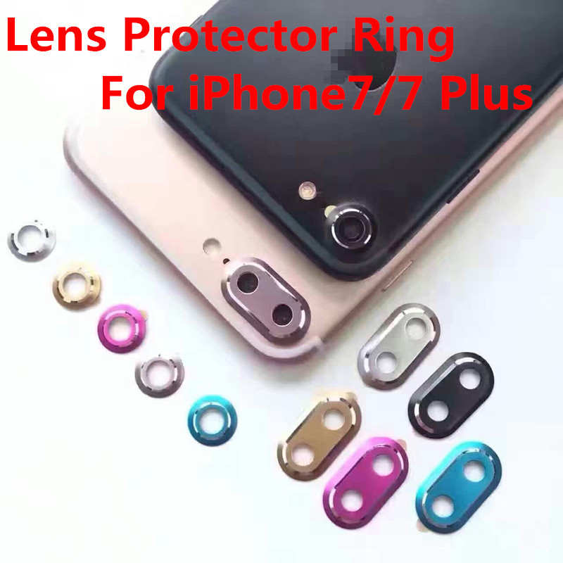 Rear Camera Protector Circle Cover Case for iPhone7/7 Plus Lens Metal Protective Ring Guard