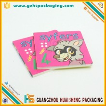 Short Run Soft Cover Four Color China Offset Printing Book