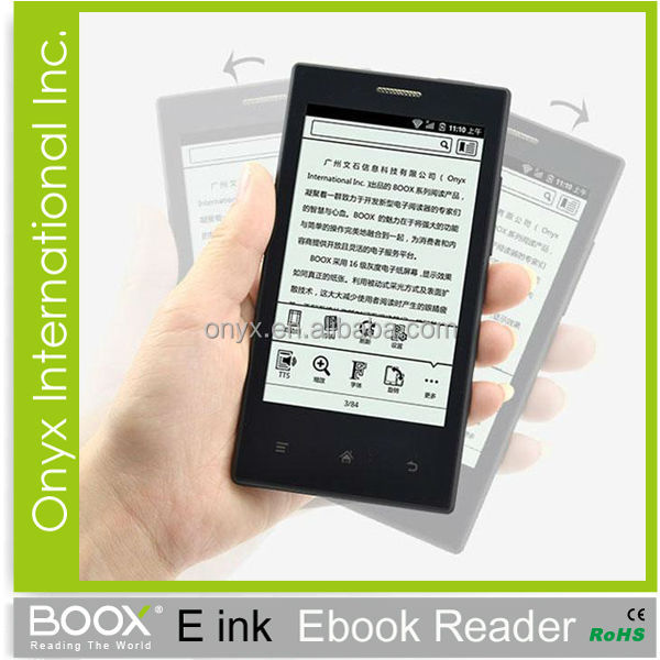 4.3 inch eink phone Android 2.3 wifi bluetooth