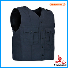 2015 Short Simple Police Vest, Cheap Military Polis Vest Navy Blue