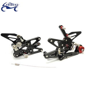 Motorcycle cnc parts Adjustable Rearset Fit for Triumph Daytona 675 2013-2014 FARTR001-BBK