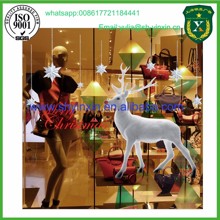 High Quality Christmas Glass Window Stickers
