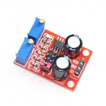 NE555 pulse frequency, duty cycle adjustable module,square/rectangular wave signal generator,stepping motor driver