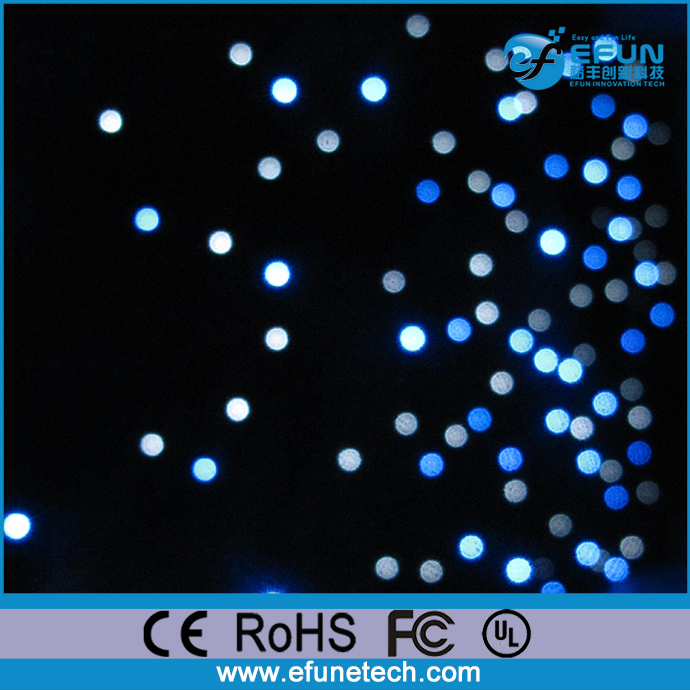 Decorative Soft Flexible Led Starlight Curtain Backdrop Twinkling Star Shower