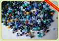 mixed color small glass pebbles